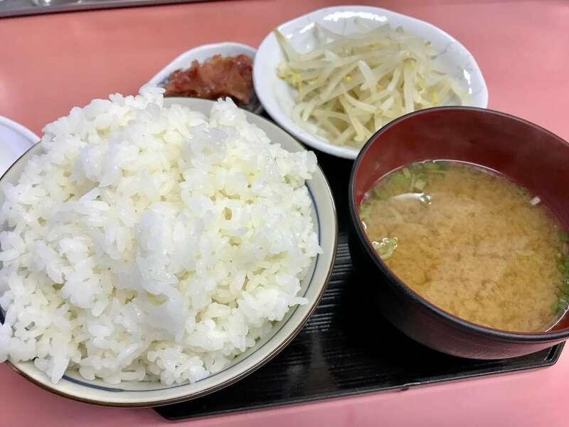 横浜飯店の定食