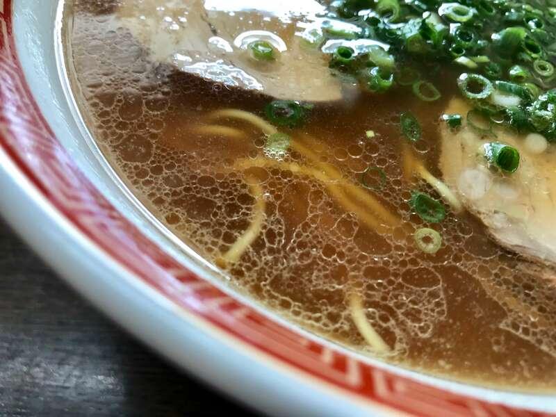 浅草軒分店のスープ