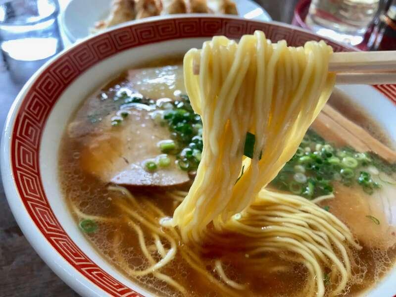 浅草軒分店の麺