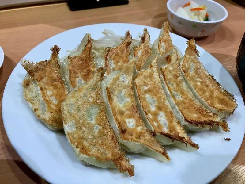 石松JR浜松駅店の浜松餃子
