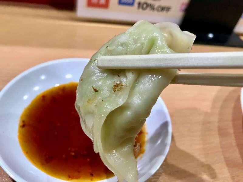 石松JR浜松駅店の餃子の皮