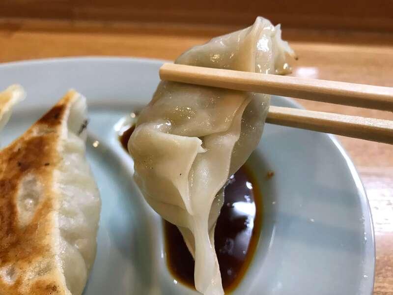 ラーメン三太の餃子の皮