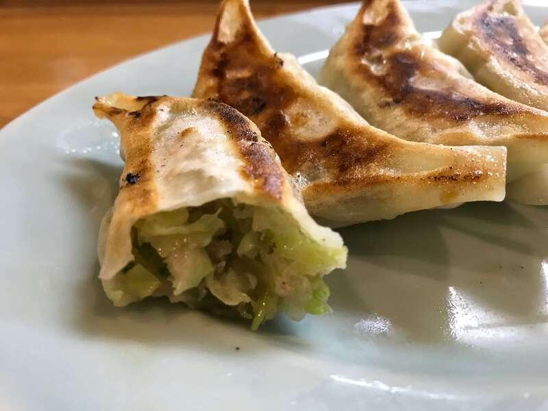 ラーメン三太の餃子の餡