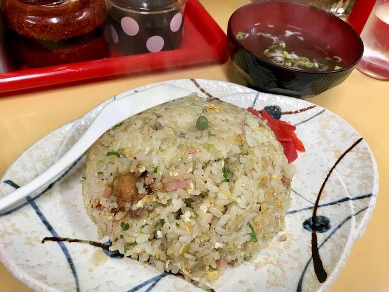 中華料理華楽のチャーハン
