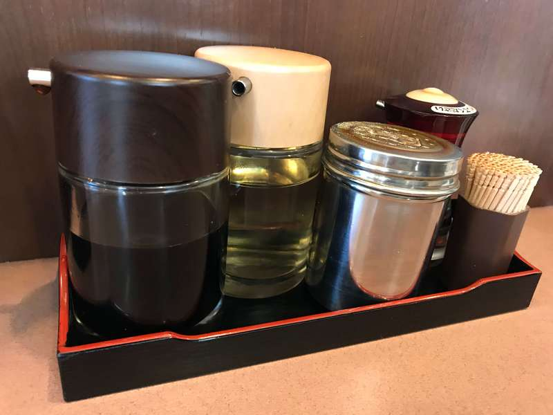 荻窪ラーメン十八番の餃子のタレ
