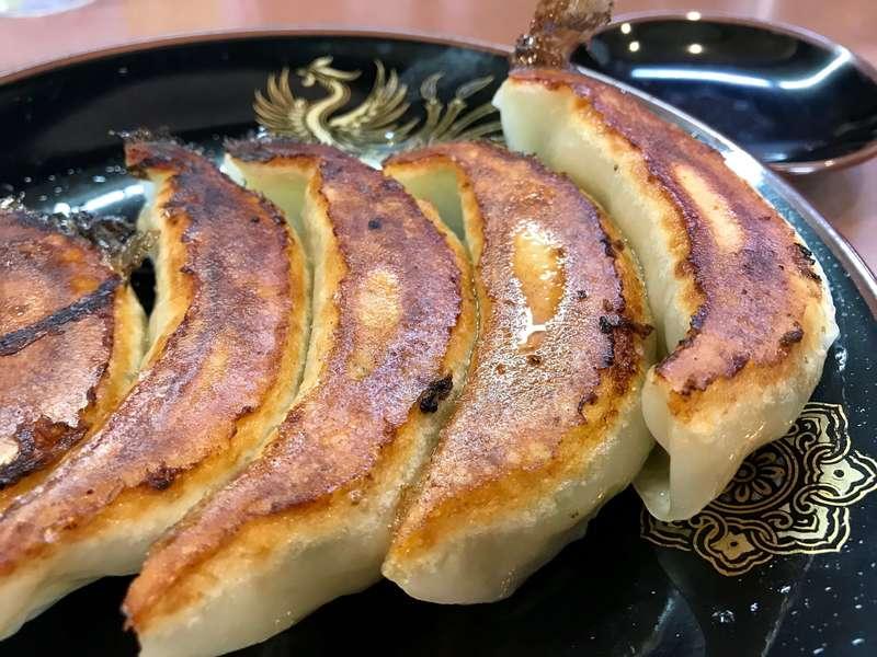 荻窪ラーメン十八番の餃子
