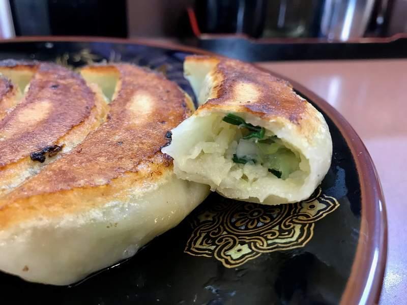 荻窪ラーメン十八番の餃子の餡