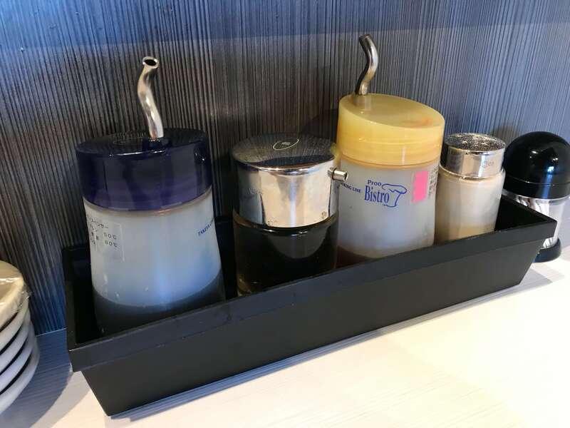 7福神壱の餃子のタレ