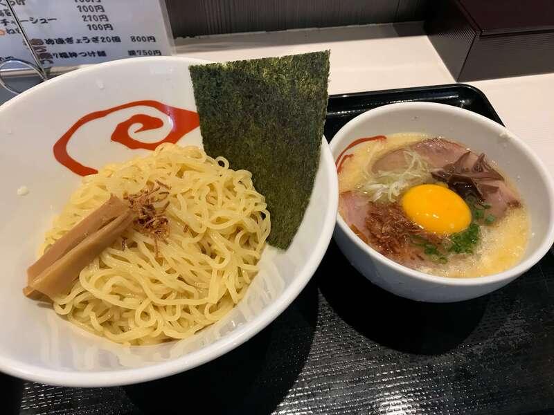 7福神壱の塩つけ麺