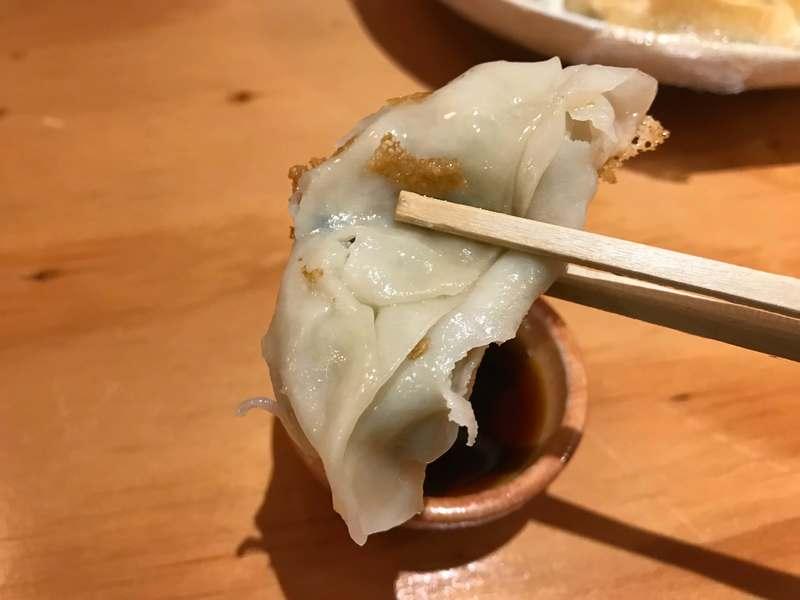 餃子の遠州の餃子の皮