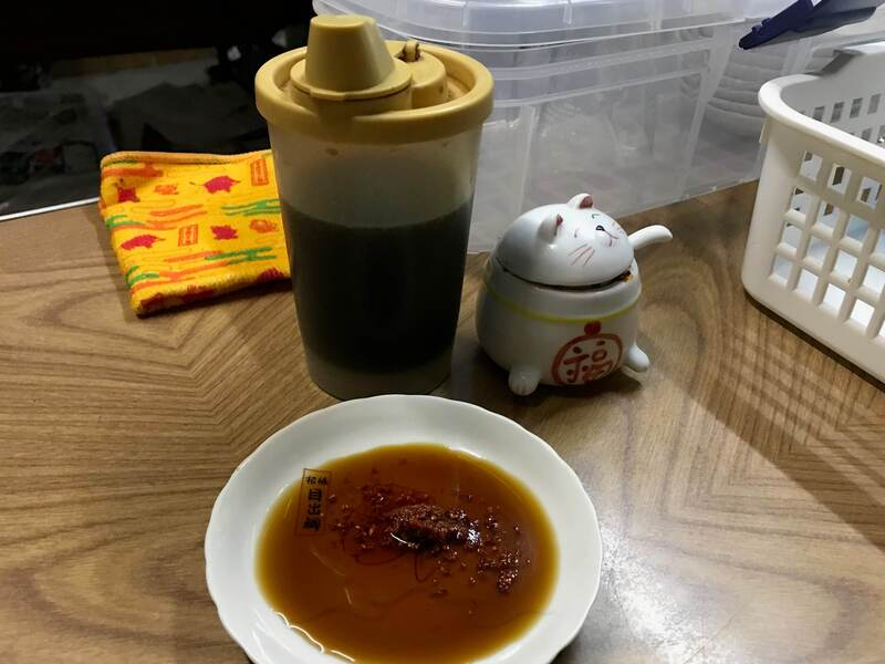 たか福の餃子のタレ