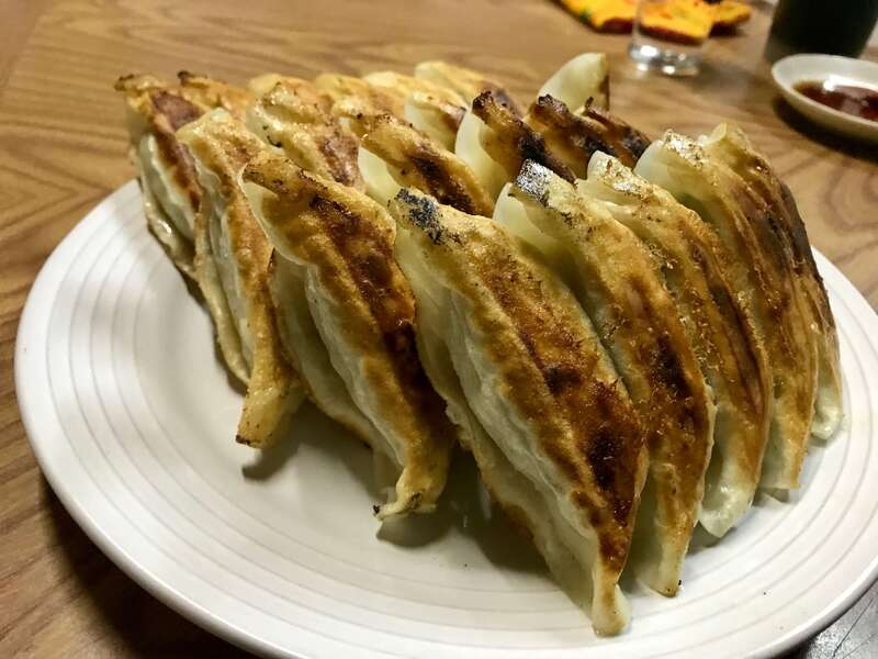 たか福の餃子の浜松餃子