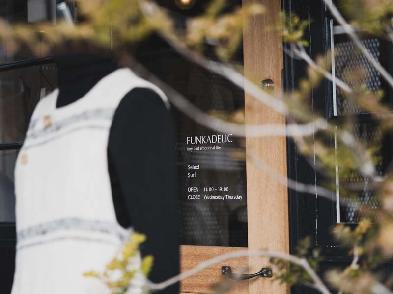 「FUNKADELICファンカデリック|元々サーフショップとしてオープンしたレディースメインのセレクトショップ」のアイキャッチ画像