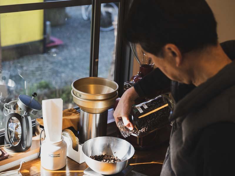 Green Coffeeの店主
