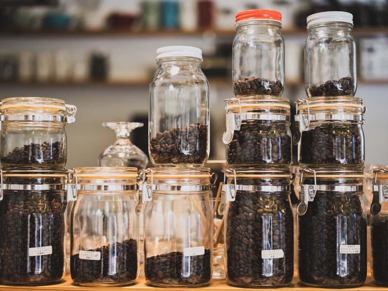 鴨江珈琲のコーヒー豆