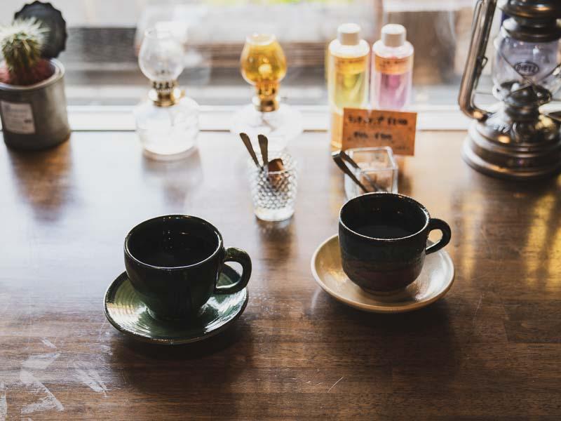 カフェアジュールのコーヒー