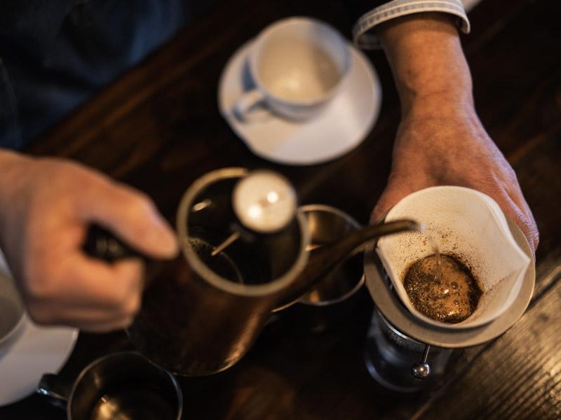 Nelcafe MilesToneのコーヒー