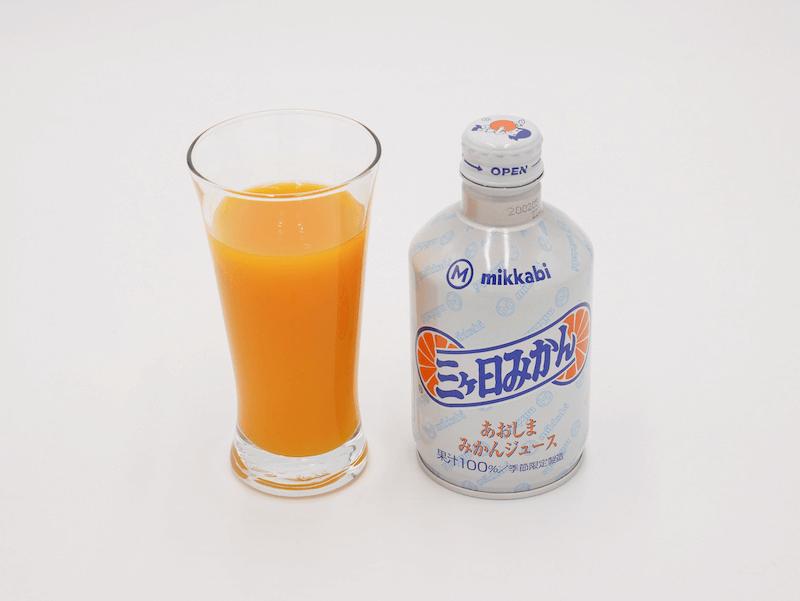 青島みかんジュースの中身