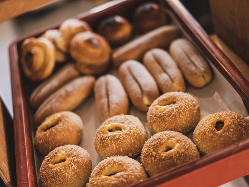 やま市パン商店のパン