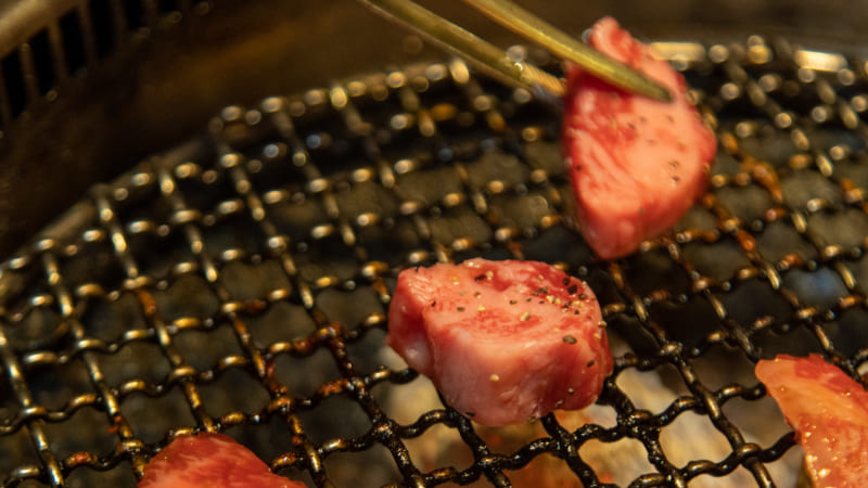 炭火焼肉三愛のゲタカルビ