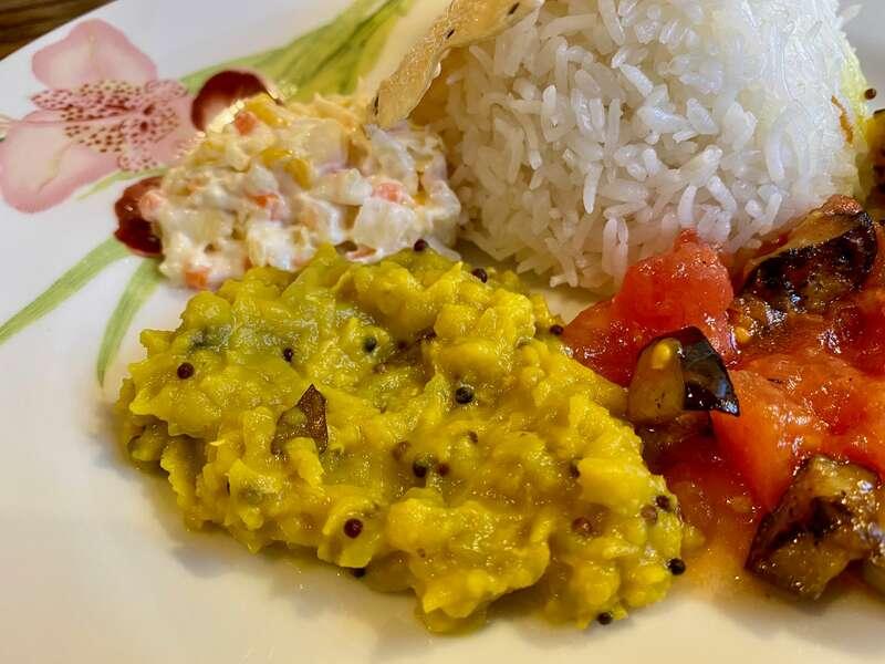 ララカレーハママツの副菜