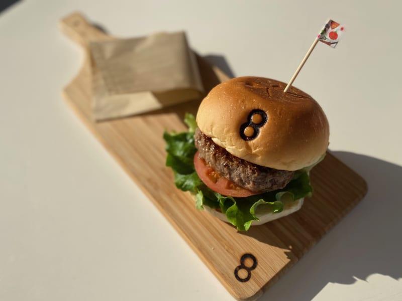 浜松バーガースタンド〇〇のハンバーガー