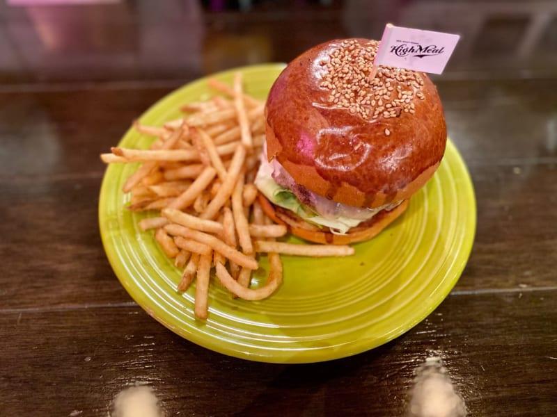 ハイミールのハンバーガー