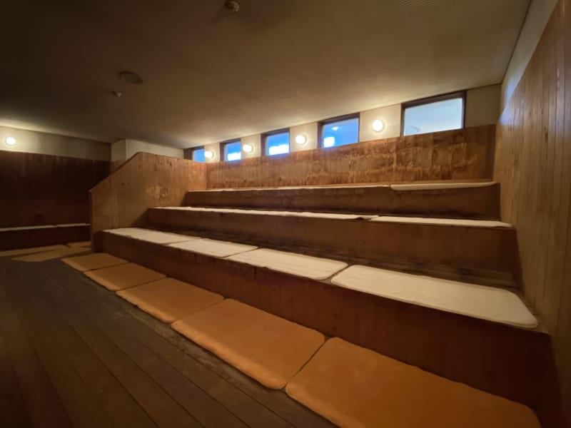 和合の湯のサウナ内部