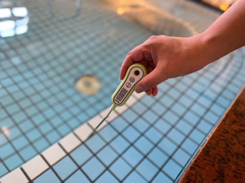 和合の湯の水風呂の温度