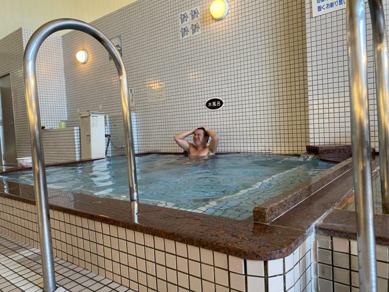和合の湯の水風呂