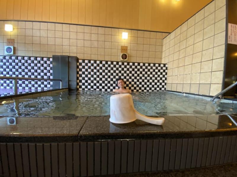 湯風景しおりの水風呂