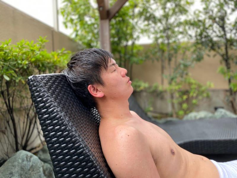 浜松温泉 喜多の湯の外気浴