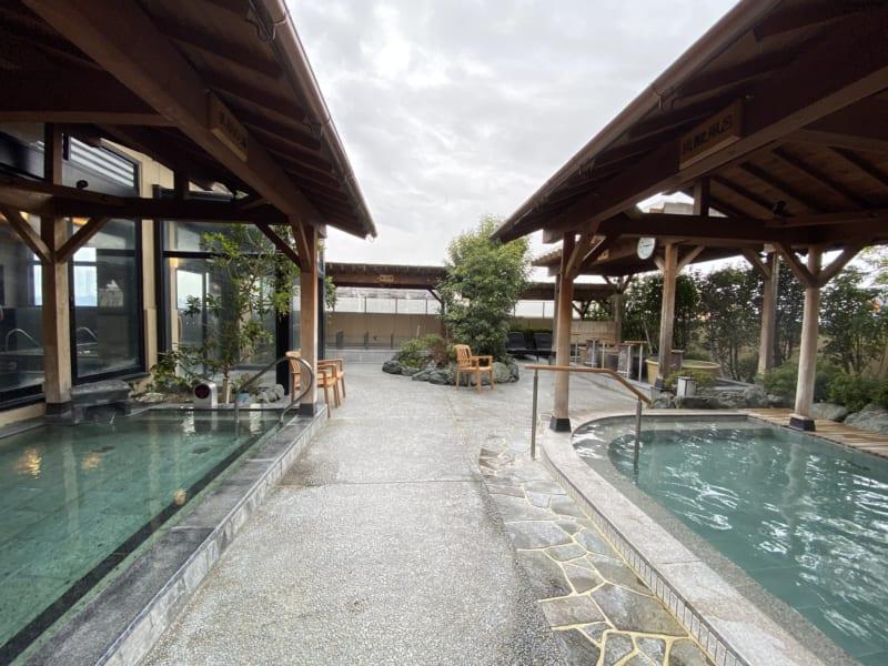 浜松温泉 喜多の湯の外風呂