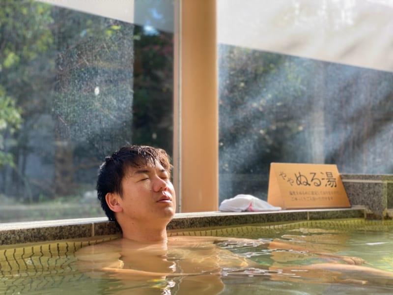 浜名湖かんざんじ温泉華咲の湯のお風呂