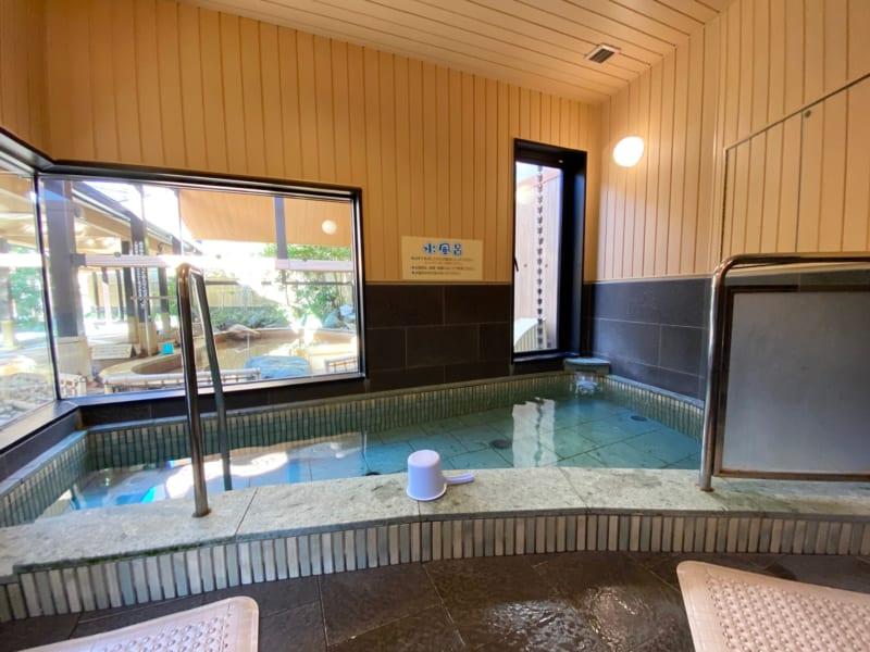 浜名湖かんざんじ温泉華咲の湯の水風呂