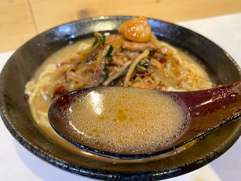 RAMEN驍TAKERUのスープ