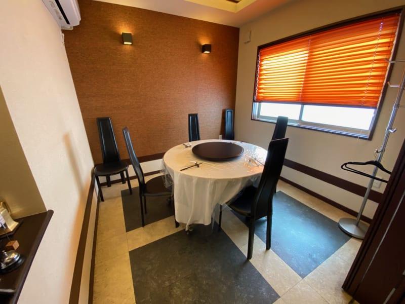 中国料理 伊部の個室席