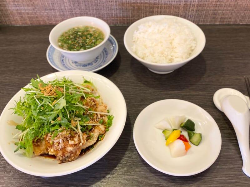 中国料理 伊部の日替わり定食