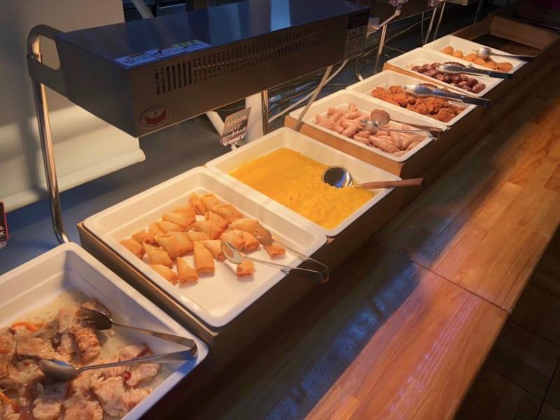 レストランペルレの朝食ビュフェ