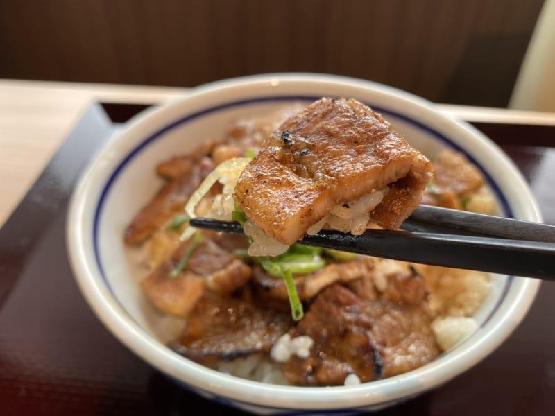 浜松とんとん庵の炭火焼豚丼
