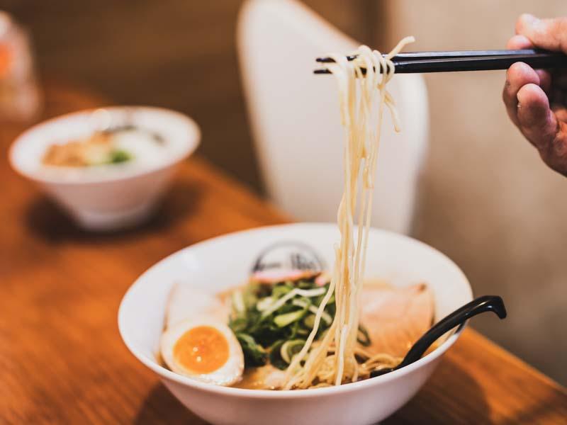 和歌山チャーシューメンの麺