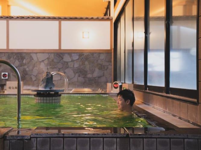 RAKUSPACafe浜松のお風呂