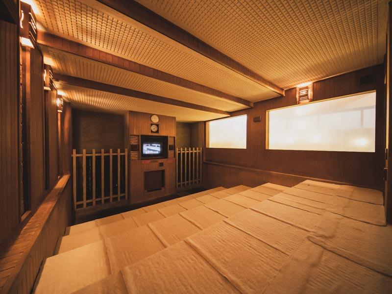 RAKUSPACafe浜松のサウナ