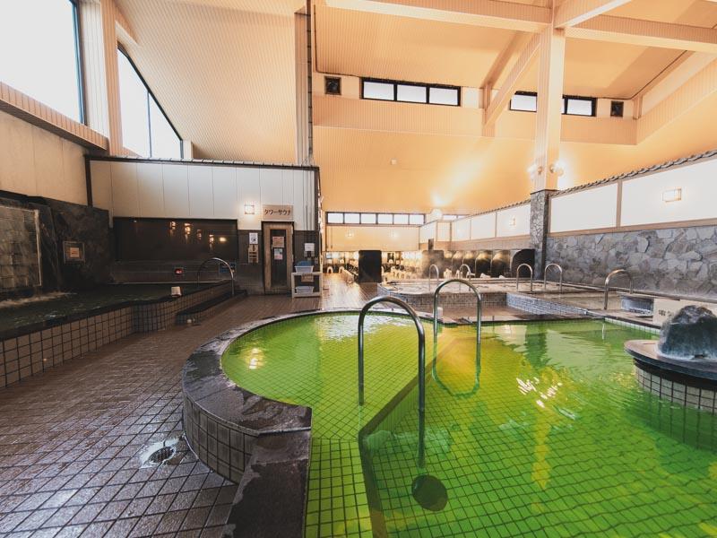 RAKUSPACafe浜松の内風呂