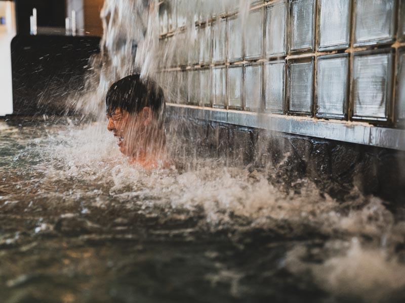 RAKUSPACafe浜松の水風呂