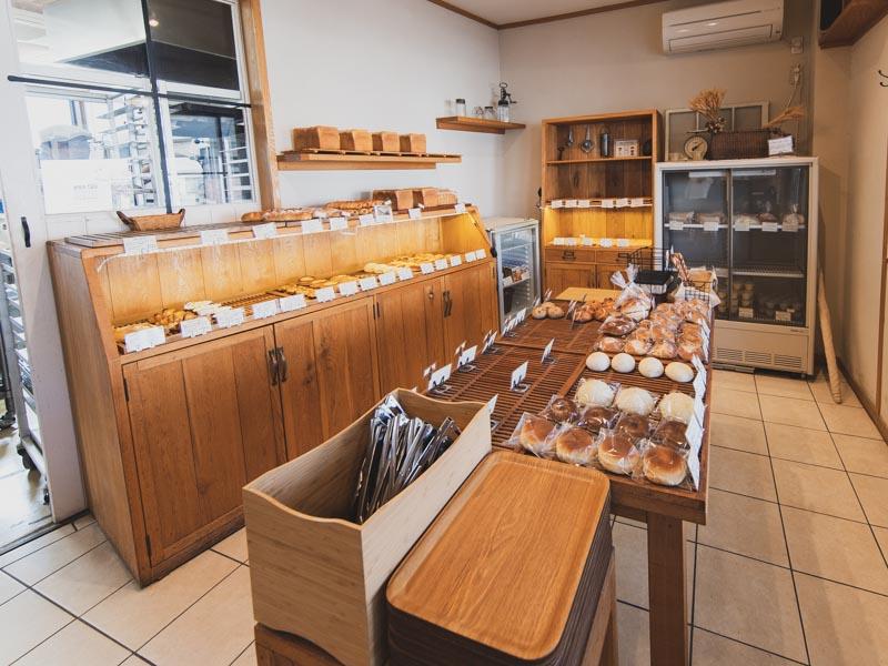 Boulangerie Kaseruの内観