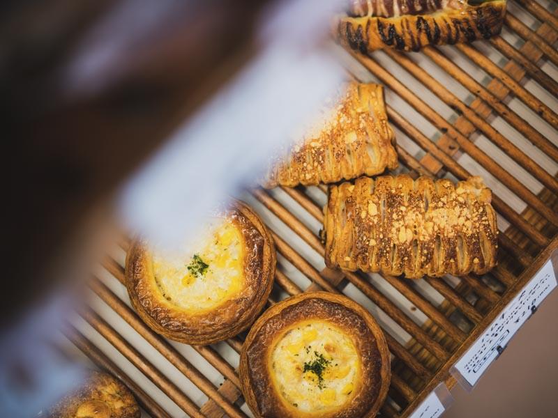 Boulangerie Kaseruのパン