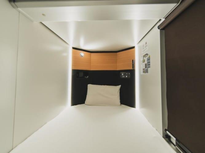 ドーミーイン・globalcabin浜松のベッド
