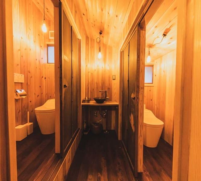 ATAGOYA阿多古屋のトイレ