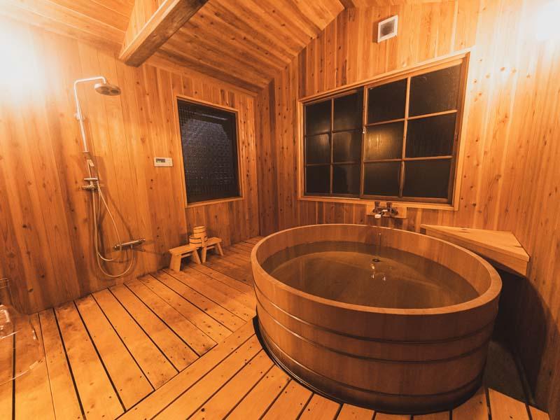ATAGOYA阿多古屋のお風呂